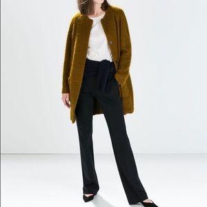 Zara Coat SZ : S, Golden brown color